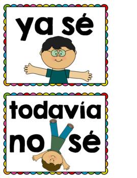 Spanish Sílabas Flashcards