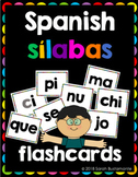 Spanish Sílabas Flashcards
