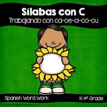 Spanish: Sílabas con C