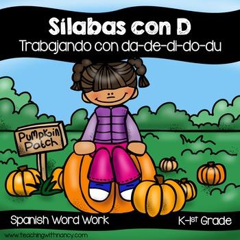 Spanish: Sílabas con D