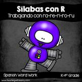 Spanish: Sílabas con R