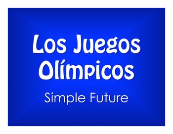 Spanish Simple Future Olympics