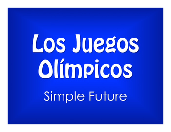 Spanish Simple Future Olympics