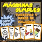 Spanish Simple Machines Vocabulary