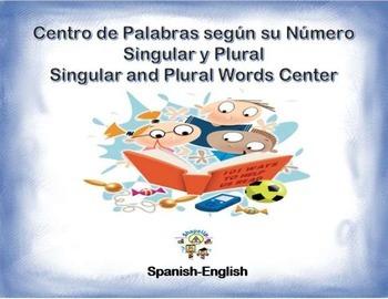 Spanish Singular & Plural Words/Numero de Palabras in a St