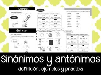 sinonimos en español gratis