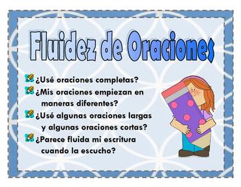 Spanish Six-Trait Writing Posters
