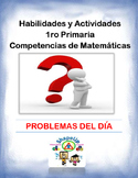 Spanish Skills and Activities 1st Grade Mathematics / 1ro Matematicas