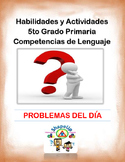 Spanish Skills and Activities 5th Grade Language Arts / 5to Lenguaje