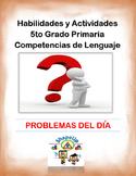 Spanish Skills and Activities 5th Grade Language Arts / 5t