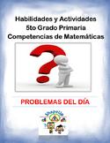 Spanish Skills and Activities 5th Grade Mathematics / 5to Matemáticas