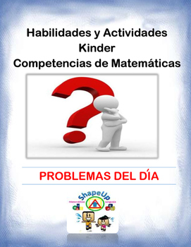 Spanish Skills and Activities Kinder Grade Mathematics / Kinder Matematicas