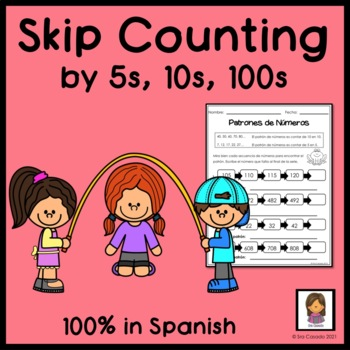Spanish Skip Count within 1000