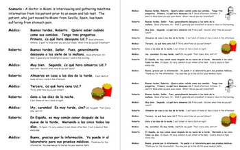 Spanish Skit / Role Play / Speaking Activity - Mealtimes - Las Comidas