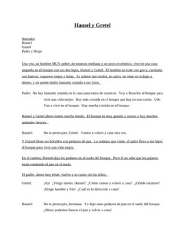 Spanish Skits (7 total)