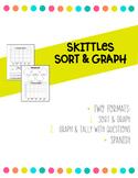 Spanish Skittle Sort and Graph