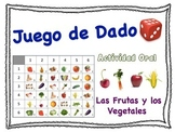 Spanish Fruits and Vegetables Speaking Activity for Small Groups (Quick Prep)