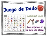 Spanish Classroom Vocabulary Speaking Activity for Small Groups (Quick Prep)