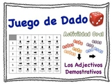 Spanish Demonstrative Adjectives Speaking Activity for Small Groups