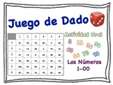 Spanish Numbers 1-100 Speaking Activity for Small Groups (Quick Prep)