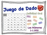 Spanish Numbers 1-1,000 Speaking Activity for Small Groups (Quick Prep)
