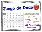 Spanish Possessive Adjectives Speaking Activity for Small Groups