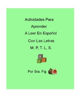 Spanish Smart Board Interactive Activities For Letters M,