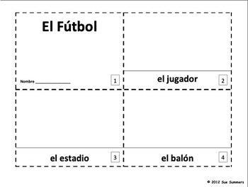 Spanish Soccer / El Futbol Booklets