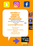 Span 2+Technology Unit : 35+ Activities, Short stories, De