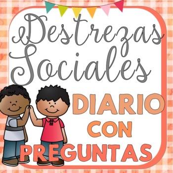 Spanish Social Skills Journal: Diario de las destrezas sociales PK-2