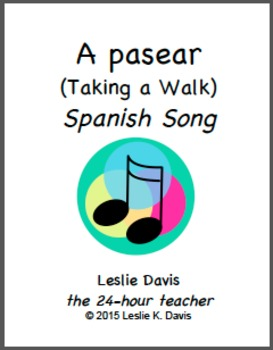 A pasear (Taking a Walk) - Spanish Song