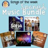 Spanish Song Activities Big Hits Bundle #2