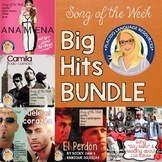 Spanish Song Activities Big Hits Bundle