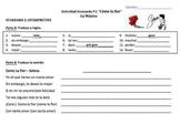 """Spanish Song Activity: """"Como la flor"""" (Object Pronouns)"""