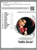 "Spanish Song "" Cielito Lindo "" Letra + Cloze Activity - Se and Past Participle"