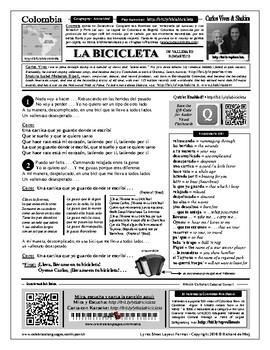 Spanish Song: La Bicicleta