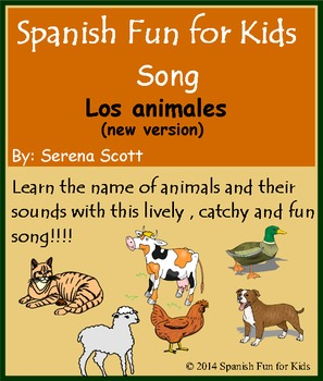 Spanish Song: Los animales (new version)