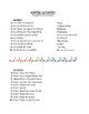 Spanish Tú Commands Song Titles