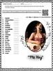 """Spanish Song """" Me Voy """" por Julieta Venegas Letra + Cloze Activity - Subjunctive"""