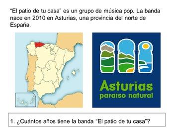 Spanish Song: Nuestros tiempos verbales. Spanish verbs conjugation.