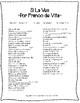 Spanish Song - Si La Ves por Franco de Vita - Present Perfect
