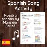 Spanish Song/Tense Identification Activity : Nuestra Canción