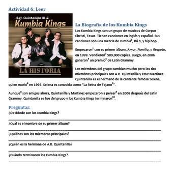 Canción - Yo No Tengo Dinero de los Kumbia Kings - Spanish Song