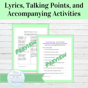 Spanish Ser and Adjectives Grammar and Culture through Music