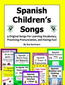 Spanish Songs - 9 Original Spanish Children's Songs