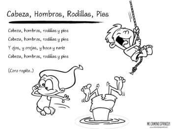 Simple Spanish Songs for Kids (Lyrics, Coloring Pages, YouTube Links!)