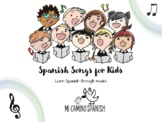 Simple Spanish Songs for Kids (Lyrics, Coloring Pages, You