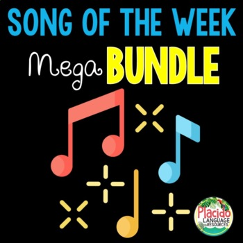 Spanish Songs of the Week MEGA Bundle