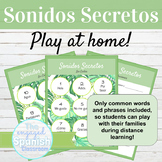 Spanish Sonidos Secretos At Home for Distance Learning