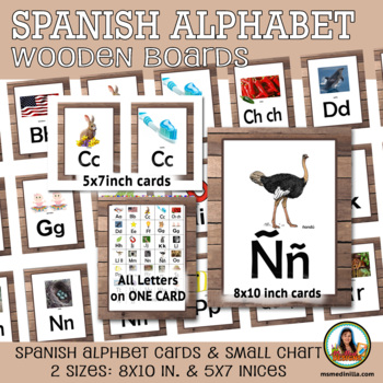 Spanish Sound Card Bundle Set  Sonidos Iniciales  Whole, Small Group, Individual
